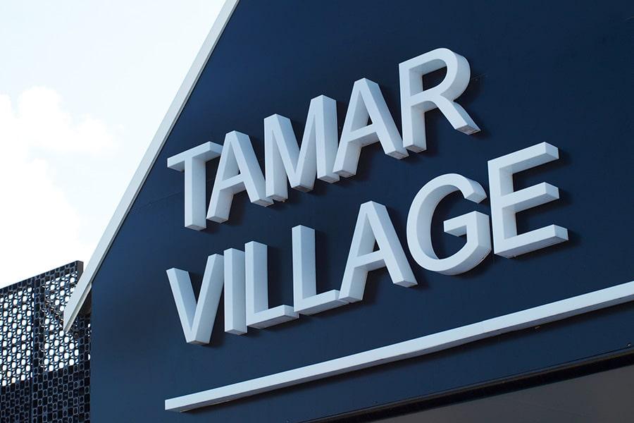 LJ Signs Solutions LED Tamar Village Signage