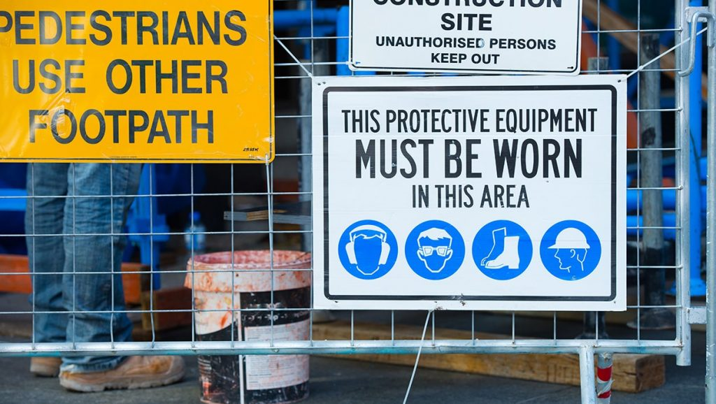 Civil Construction Signs in Ballina