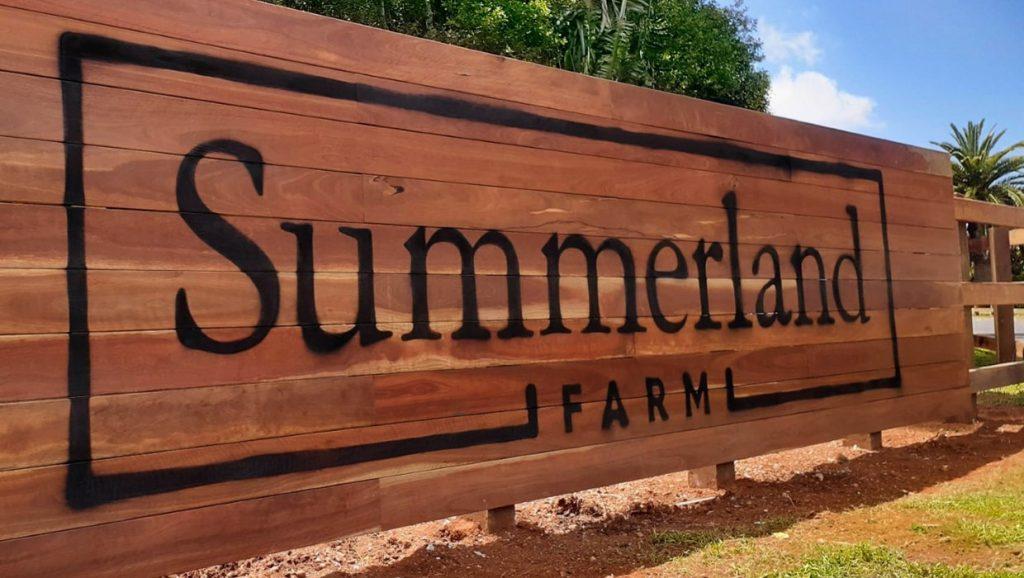 Summerland Sustainability Signage