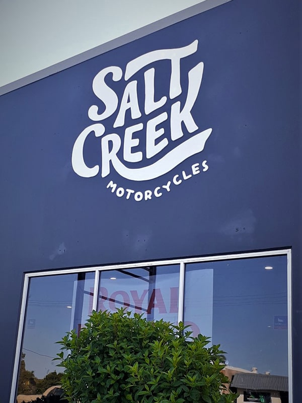 LJ Sisngs Byron Bay Unforgettable shop front signages